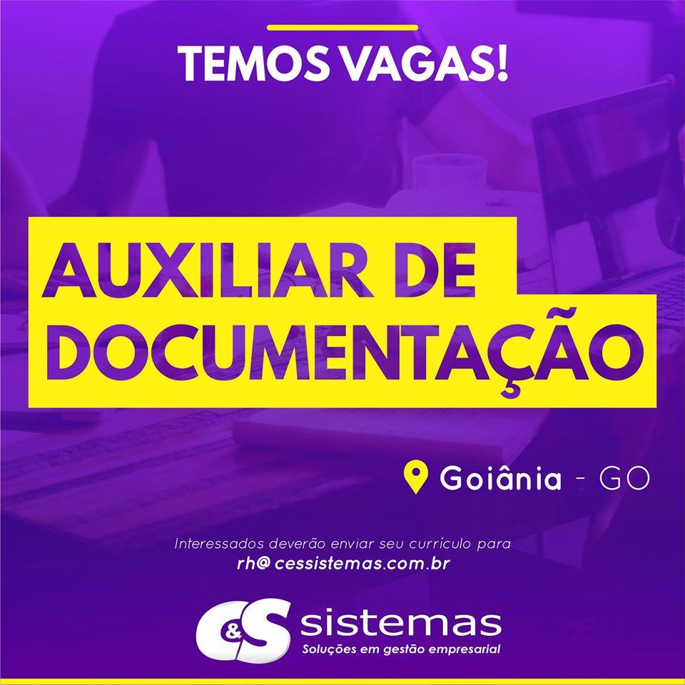 AUXILIAR DE DOCUMENTAÇÃO