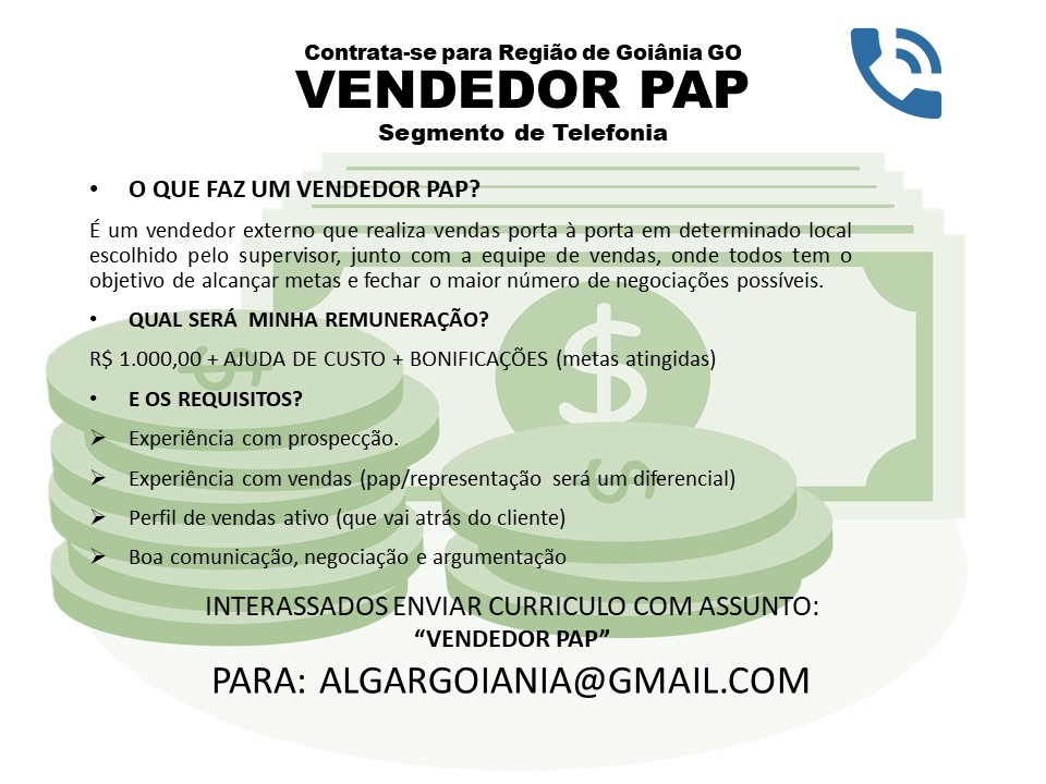 VENDEDOR PAP